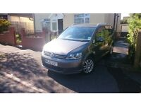 VW TOURAN 1.6 SE TDI BLUEMOTION, SATNAV+ FSH+1 PREV OWNER