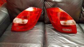 2012 Skoda Fabia Genuine Driver OS, Passenger NS Headlights Rear lights