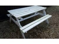 Pub bench ( needs some tlc ) £10