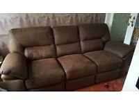 Large 3 seater recliner