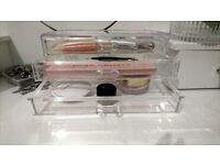 Clear Acrylic Cosmetic Organizer Make Up Drawers Case Jewelry Storage Box