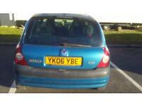 Cheap sale 350 clio 1.6 got mot till january