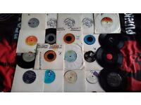 "20 7inch vinyl 7"" 80s 90s pop some classics lot 2 scorpions human league r&b records kiki dee"