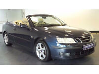 2004 SAAB 9-3 2.0 VECTOR T 2D 150 BHP CONVERTIBLE *PART EX WELCOME*24 HOUR INSURANCE*WARRANTY*