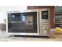 Sharp R82STMA 25L 900W Combination Microwave with Grill & Convection Oven