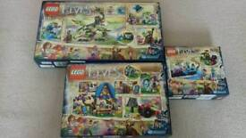 Lego Elves 3 sets Brand New unopened selling as a bundle.