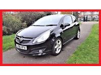(41800 Miles)-- Vauxhall Corsa SRi -- Low Mileage -- StyLish Great Spec -- Part Exchange OK
