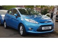 2011 '11' Ford Fiesta 1.25 Zetec Climate Bluetooth Genuine 78k Full Ford History 1 Owner from new