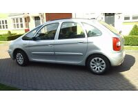 Must be seen Citroen Xsara Picasso Exclusive AUTOMATIC, FSH, 12MTHS MOT, Silver, excellent condition