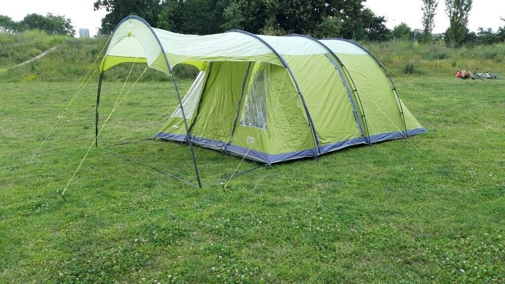 Family six-person camping tent for sale - used for only ...