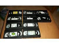 Loose (10) Kids/Childrens VHS Vapes
