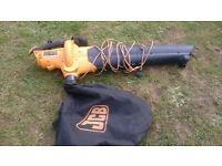 JCB leaf blower and vacuum