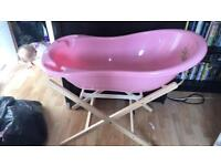 Baby bath / seat / stand