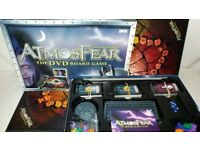 Vivid Games *ATMOSFEAR THE GATEKEEPER DVD BOARD GAME 2003