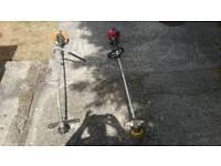 Petrol strimmer and petrol brush cutter