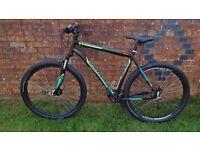 Specialized hard rock Sport, 29er, hard tail aluminium framed mountain bike