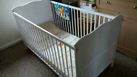 Cot bed cotbed white