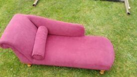 Mini chaise lounge kids shabby chic