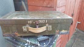 Old war box