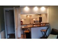 West End Glasgow just of Byres Road ONE bedroom part furnished flat