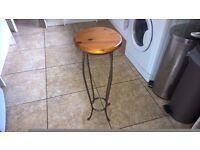 John Lewis Ducal soild wood plant Stand table