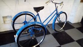Adults Tricycle Single Speed George Fitt Engineering from 1950's