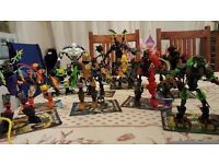 Lego Hero Factory 12 figures virtually 100% complete including all instructions only ��25