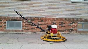 POWER TROWEL HONDA 24 36 48 INCH + FREE BLADES + FREE FLOAT PAN + 1 YEAR WARRANTY + FREE SHIPPING ONTARIO WIDE !!!!!!!!!