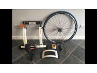 Tacx Bike Turbo Trainer and Wheel