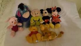 Official Walt Disney Plush Toys