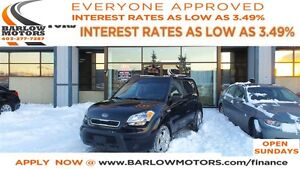 2011 Kia Soul 2.0L 2u *EVERYONE APPROVED* APPLY NOW DRIVE NOW.