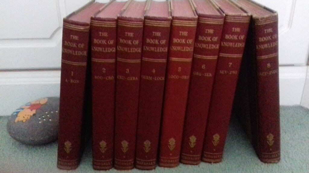 Encyclopaedias - set of 8