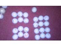 37 Titleist Prov1 used golf balls