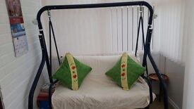 Outdoor furniture swing (2 seater)