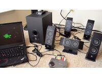 LOGITECH X540 SURROUND SOUND SPEAKERS
