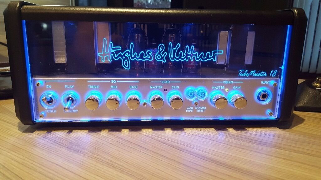 Hughes And Kettner Tubemeister Head And Two Way Footswitch - Two way footswitch