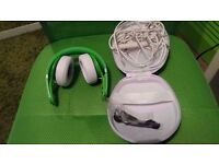 Beats By Dre Mixr Green Headphones - Excellent Condition!