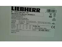 Refrigerator/LIEBHERR Perfect Condition.
