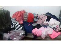 39 items Girls 9-10 10-11 clothes bundle clothing Next River Island Hilfiger denim coats jeans tops