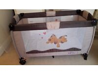 TecTake Baby Travel Cot Delivery