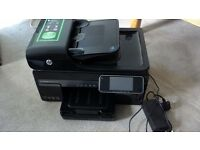 HP Officejet Pro 8500A printer and 9 ink cartridges