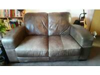 Leather Sofa's For Sale ( 2 seater & 3 seater )