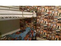 Metal single bunk beds