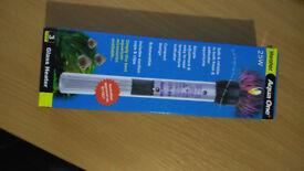 25W Aqua One Glass Aquarium Heater (New/Boxed)