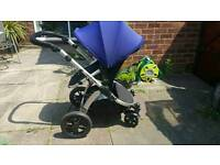 Baby Travel system pushchair/pram and carseat