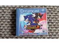 sega dreamcast Sonic Adventure 2 boxed with instructions