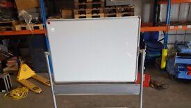 NOBO Magnetic Revolving Mobile Whiteboard