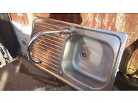 Kitchen sink mixer tap excellent condition