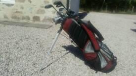 Golf Clubs and Wilson Bag