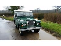 1964 Land Rover Series 2a. Tax exempt. Galvanised chassis. Diesel. Overdrive.